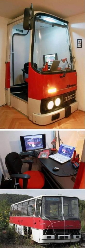 Home office bus!
