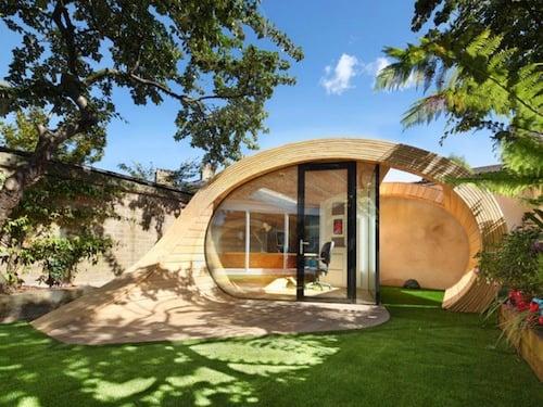 office garden pod.