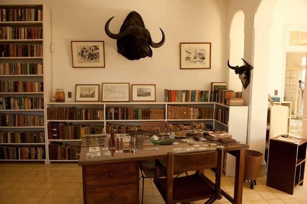 Ernest Hemingway's Cuban office.