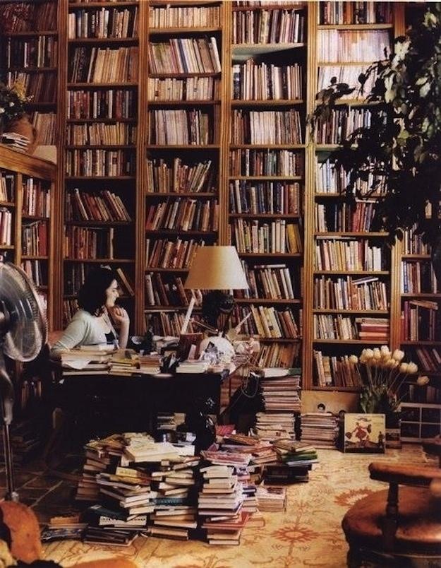 Nigalla Larson's home office.