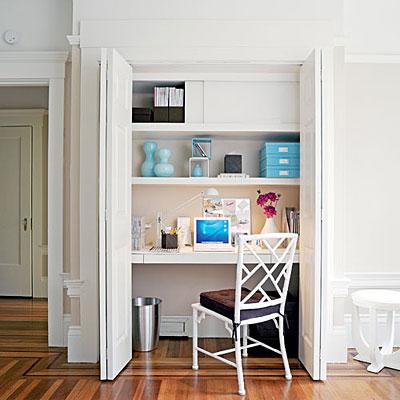 Cupboard home office