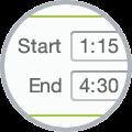Start & finish time