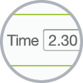 timesheet app showing duration