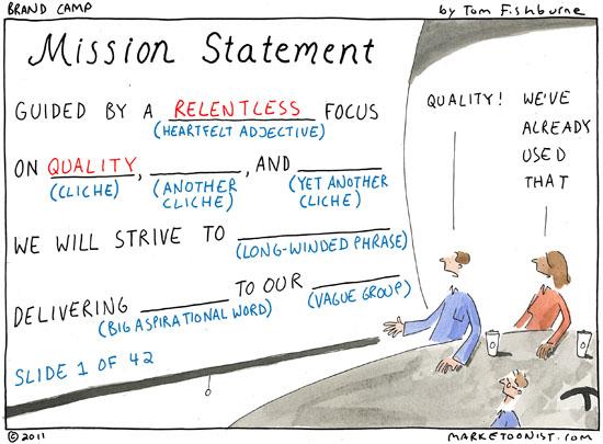 personal mission statement generator