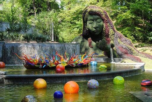 atlanta botanical gardens earth mother
