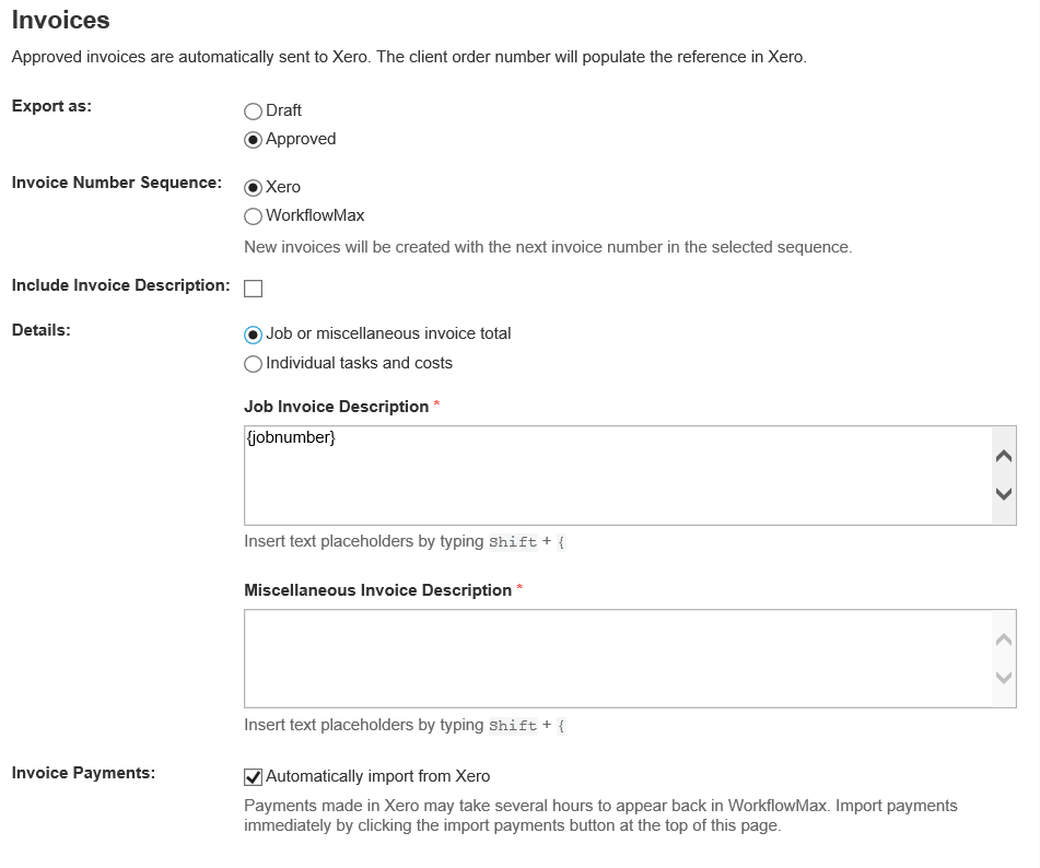 2. job invoice total