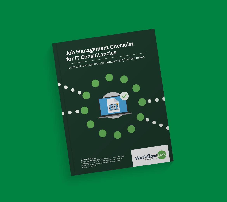 Free download: Job Management Checklist for IT Consultancies