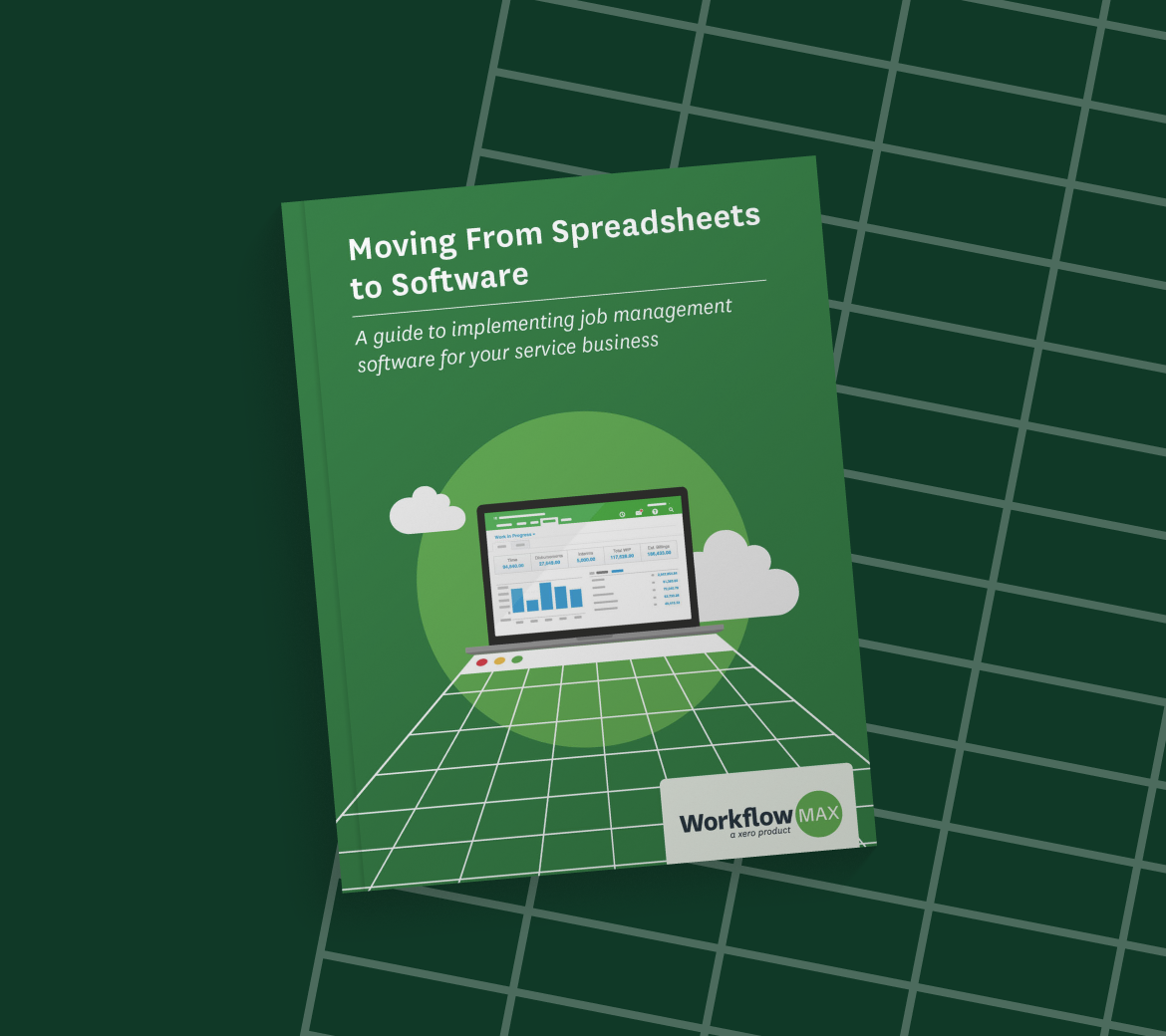 Free download: Moving From Spreadsheets to Software: A guide to implementing job management software