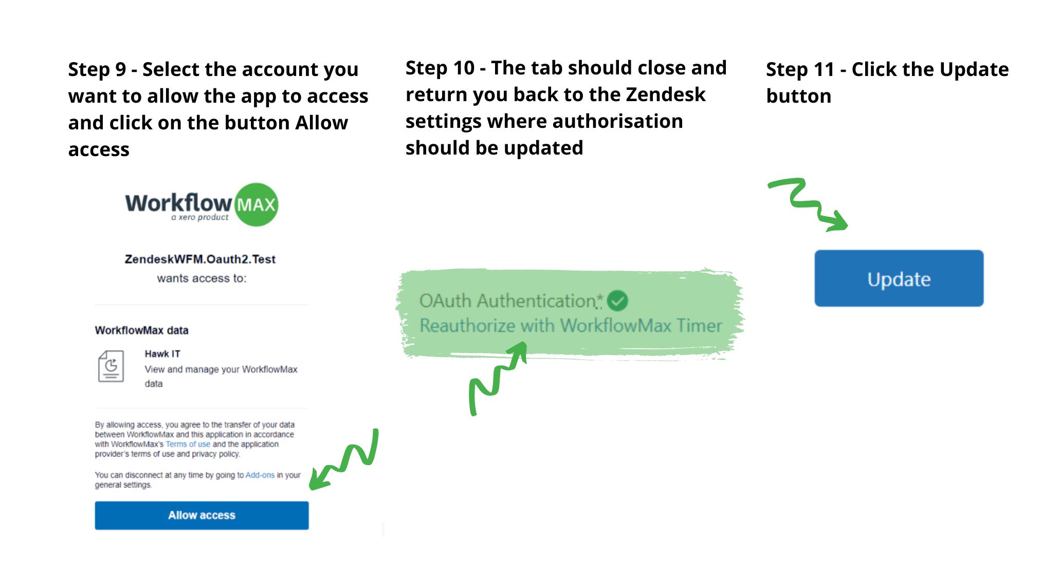 Zendesk step 9,10,11