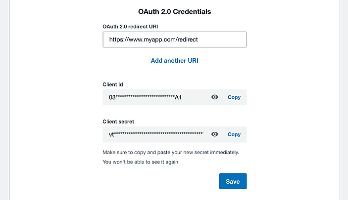 oauth2-creds