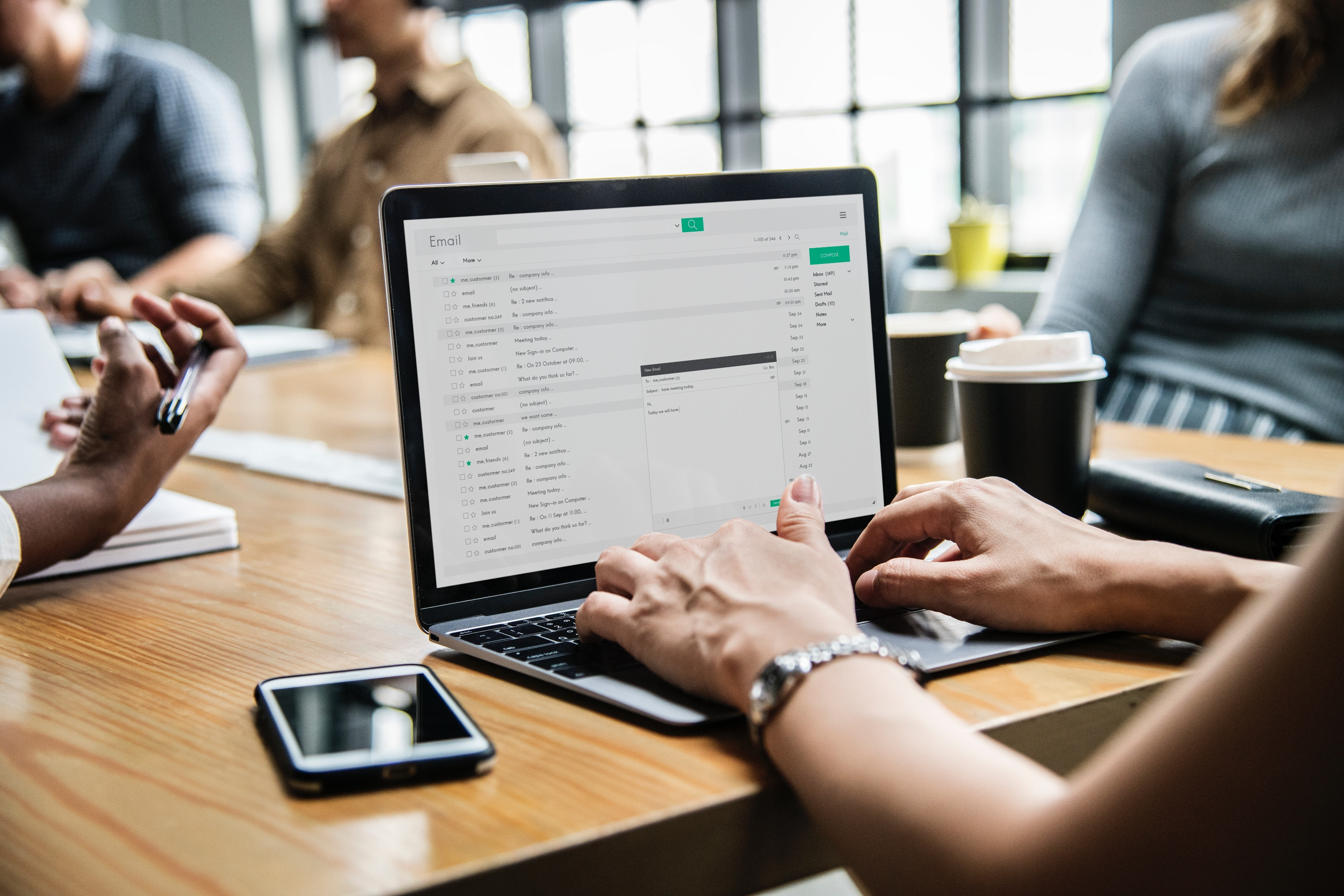 checking emails start with easy tasks