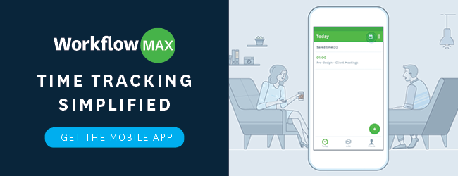 workflowmax mobile app time tracking