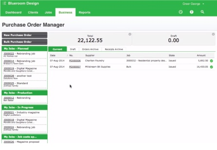 Online Purchase Order Management Software  Workflowmax