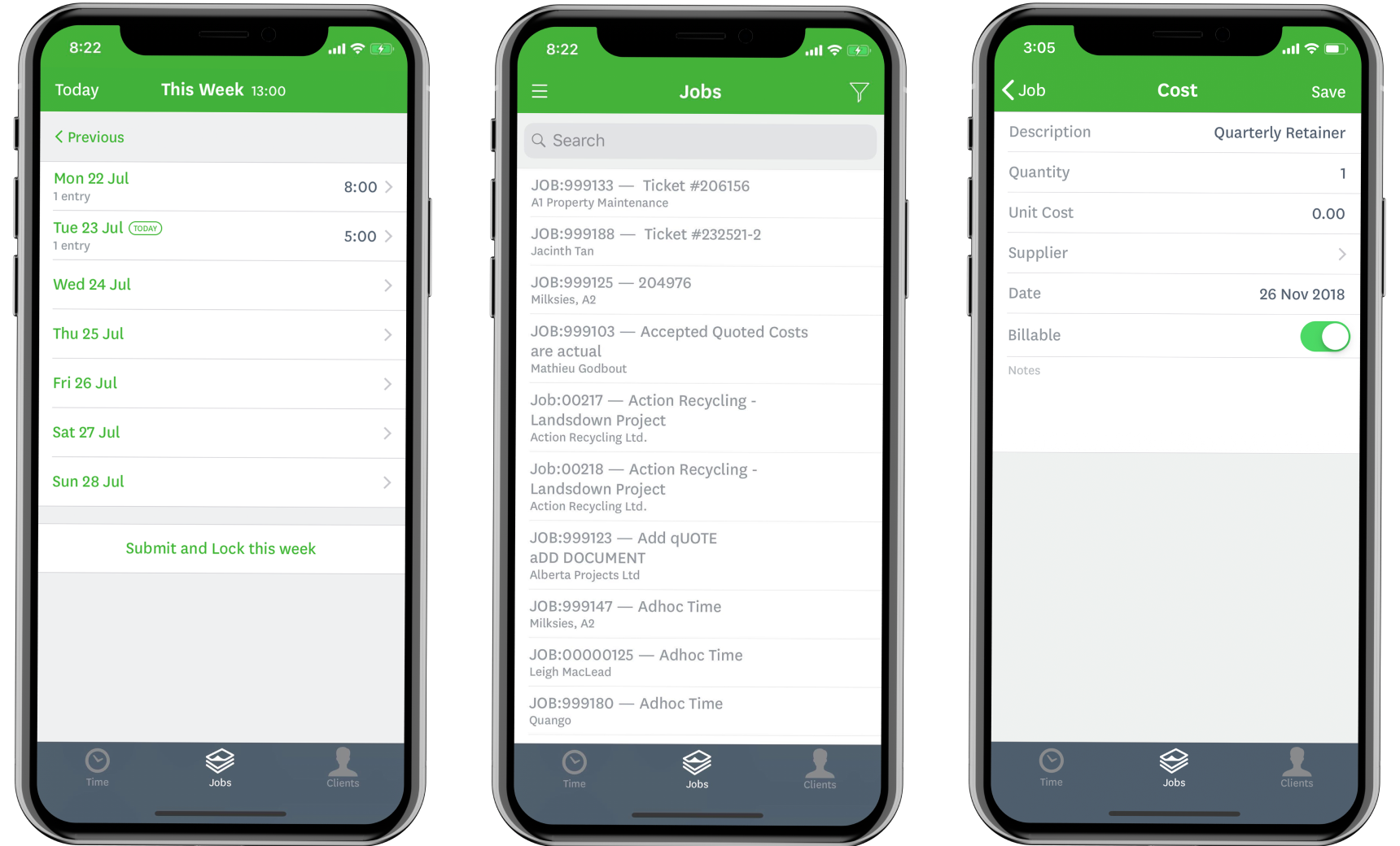 Mobile project and job management application | WorkflowMax